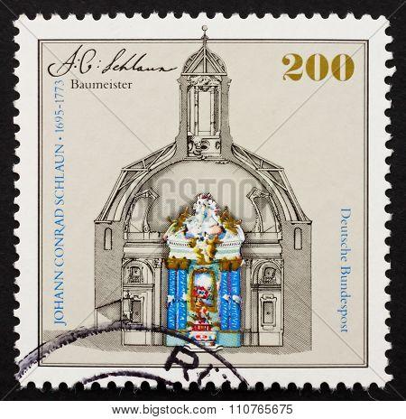 Postage Stamp Germany 1995 Nievenheim Altar By Johann Conrad Sch