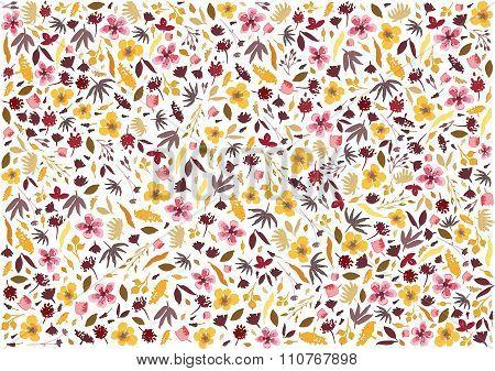 Flowery backround
