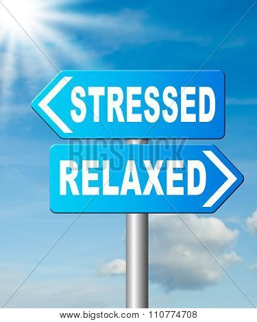 Stressed Or Relaxed