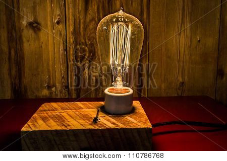 Antique Lamps With Edison Light Bulbs