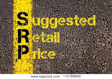 Accounting Business Acronym Srp Suggested Retail Price