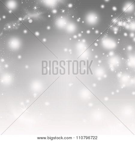 Abstract bokeh Christmas background