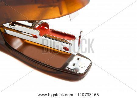 Orange Plastic Stapler