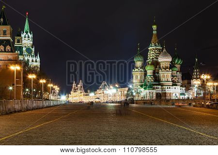 Vasilevsky Descent Of Red Square In Moscow