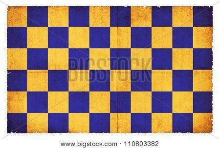 Grunge Flag Of Surrey (great Britain)