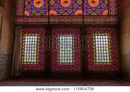 Citadel coloured glass