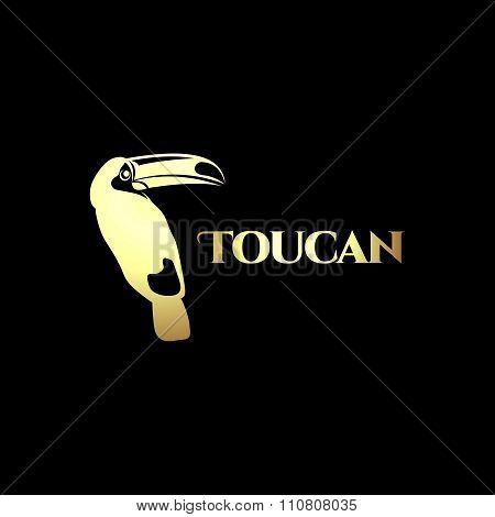 Vector Toucan Silhouette