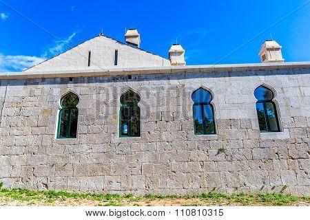 Medieval building Maskovica Han in Croatia