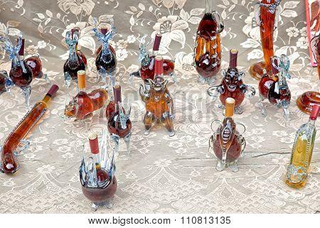 Cognac In Gift Bottles