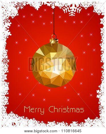 Merry christmas card you can easy all editable