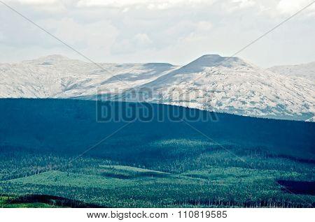 Mountain Ural Range Kvarkush 1