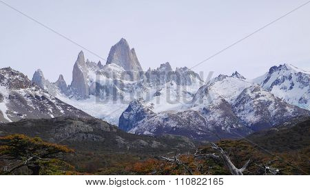 Mount Fitz Roy in Patagonia