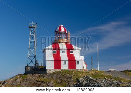 The historic Cape Bonavista Lighthouse in Newfoundland, Canada