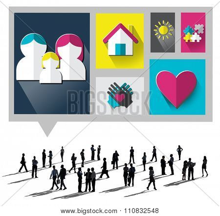 Family Love Home Parenting Relationship Concept