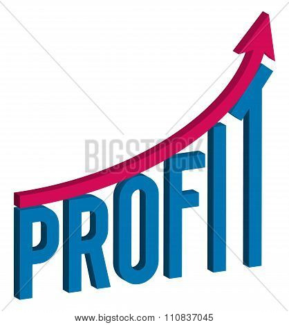 increase profit business concept