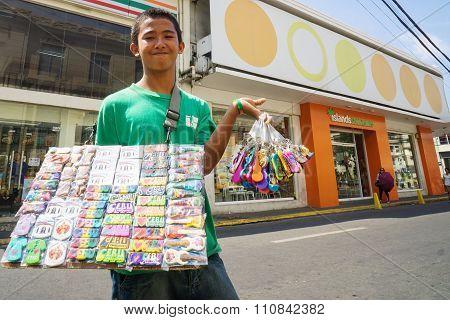 Street Souvenir Seller