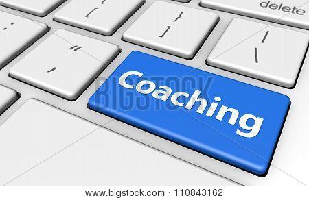 Coaching Button Computer Key