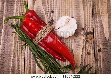 Domestic Harvest Of Vegetables