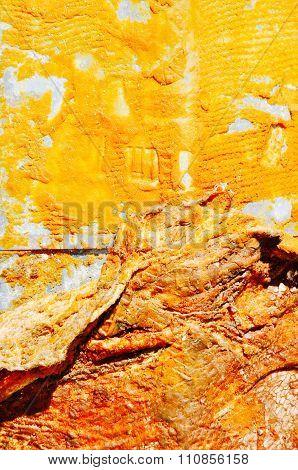 Golden Rust: Abstract