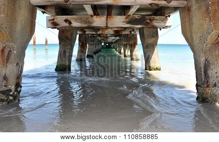 Ocean View: Jetty Underside