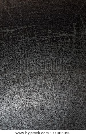 metal surface with scratches