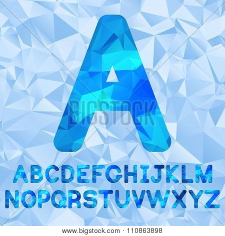 Polygonal alphabet vector