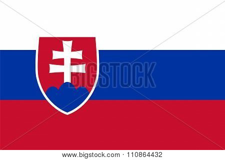 Standard Proportions For Slovakia Flag