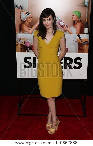 NEW YORK-DEC 8: Actress Britt Lower attends the premiere of