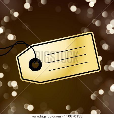Gold tag
