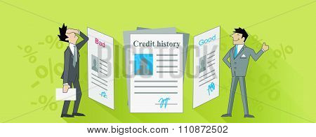 Credit History Bad and Good Design