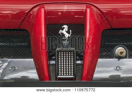 Ferrari FXX back detail