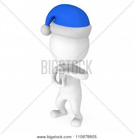 White Santa Claus Show Time Out