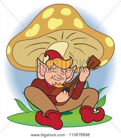 Gnome Musician