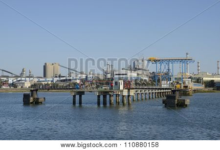 Dock Of Chemical Industry