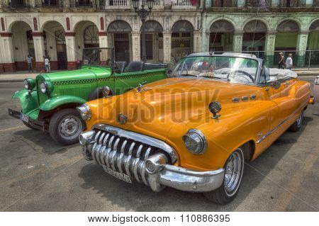 Cuban taxis in Havana