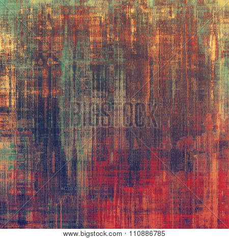 Grunge background or texture for your design. With different color patterns: yellow (beige); purple (violet); red (orange); green