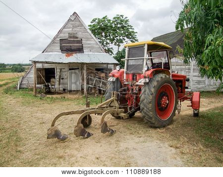 Agricultural Scenery In Cuba