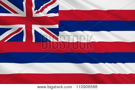 State Flag Of Hawaii