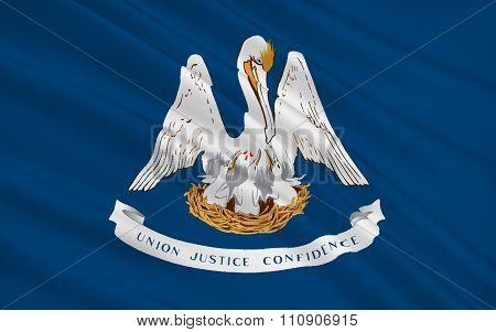 State Flag Of Louisiana