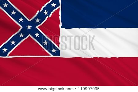 State Flag Of Mississippi