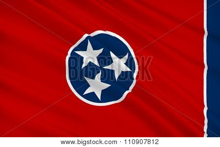State Flag Of Tennessee