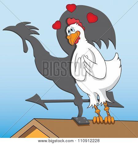 Lovesick Chicken