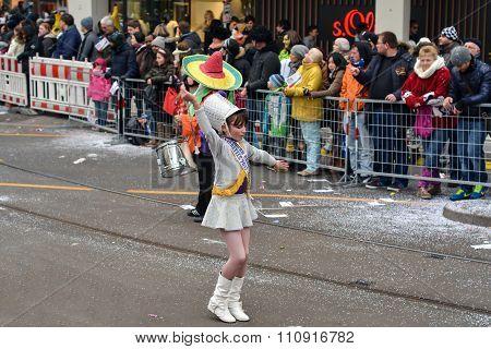 Fasching Carnival Parade Karlsruhe