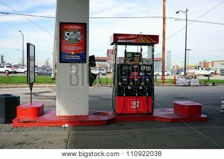 Speedway Gasoline Pump