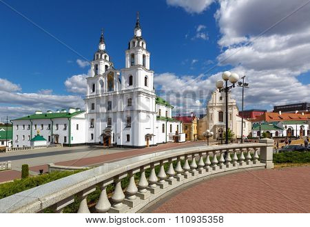 Historical center of Minsk, Belarus