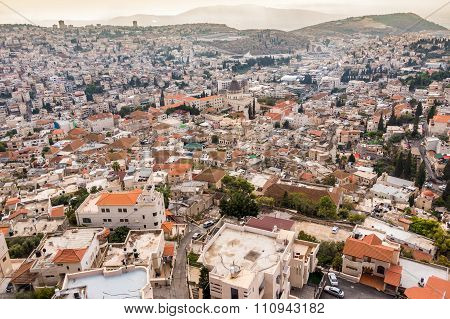 Panorama Of Nazareth, Israel