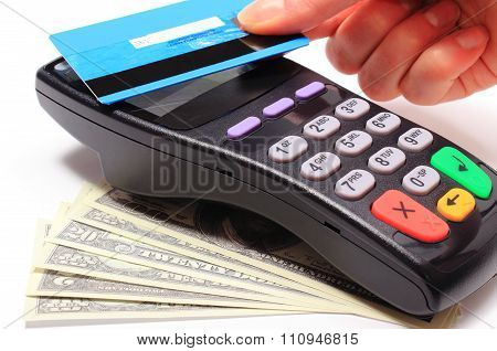 Paying With Contactless Credit Card, Nfc Technology