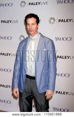 LOS ANGELES - DEC 8:  Rob Huebel at the PaleyLive LA -  The League - A Fond Farwell at the Paley Center For Media on December 8, 2015 in Beverly Hills, CA
