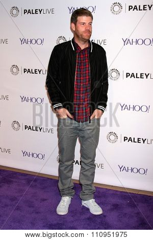 LOS ANGELES - DEC 8:  Stephen Rannazzisi at the PaleyLive LA -  The League - A Fond Farwell at the Paley Center For Media on December 8, 2015 in Beverly Hills, CA