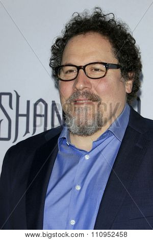 LOS ANGELES - DEC 4:  Jon Favreau at the he Shannara Chronicles at the iPic Theaters on December 4, 2015 in Los Angeles, CA